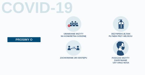 COVID-19 / Zmiana godzin pracy.